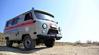 Автомобиль Судакского аварийно-спасательного отряда
