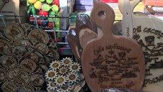 Крымские сувениры. Поделки из дерева