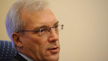 Постоянный представитель РФ при НАТО Александр Грушко