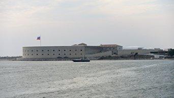 Константиновская казематированная батарея в Севастопольской бухте