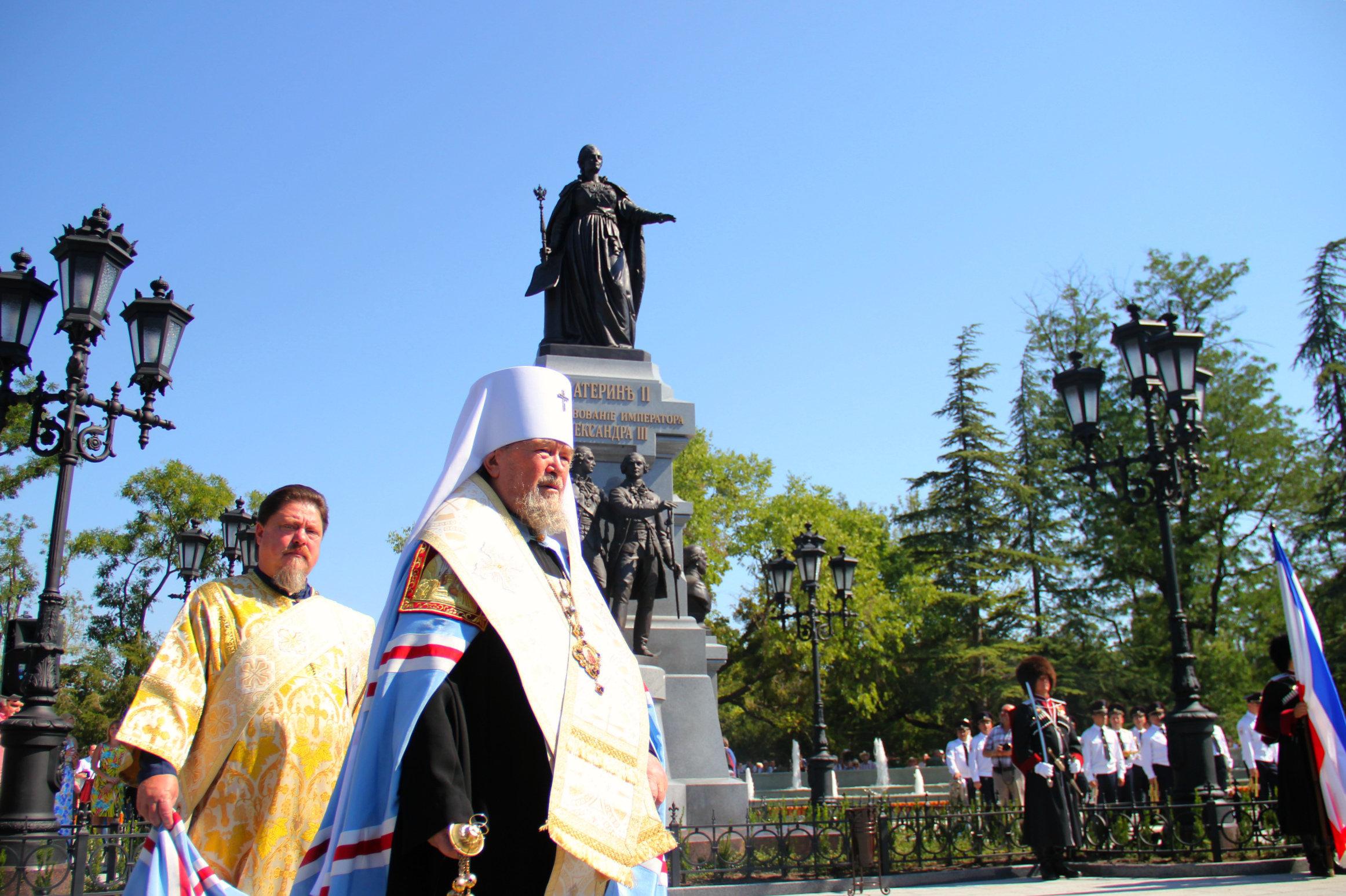 У Сімферополі відкрили пам'ятник Катерині ІІ - фото 4