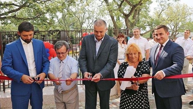 ВКацивели иЛивадии открыли детские сады