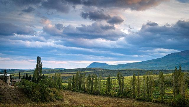 В окрестностях села Нижняя Кутузовка (Алушта)
