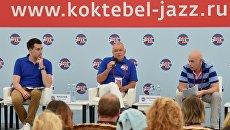 Генеральный директор МИА Россия сегодня Дмитрий Киселев на пресс-конференции, посвященной открытию международного джазового фестиваля Koktebel Jazz Party