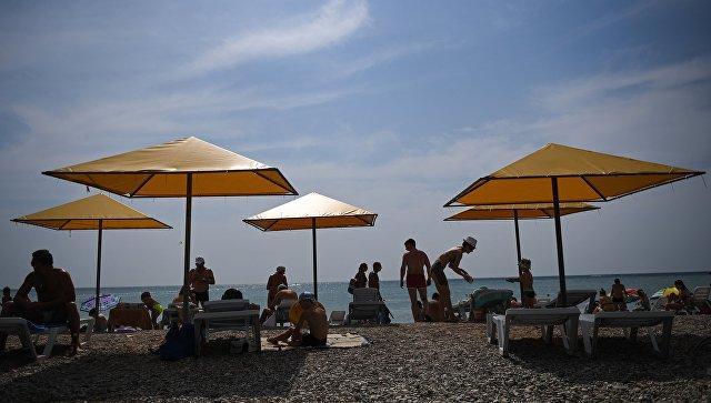 Пляж. Архивное фото