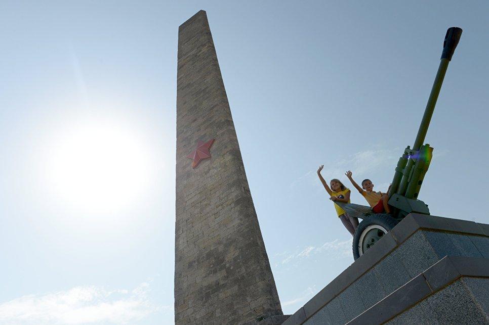 Обелиск героям Великой Отечественной войны в Керчи