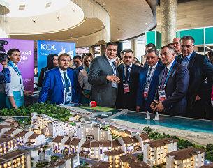 Ялтинский международный экономический форум. Презентация Итальянской деревни в Крыму