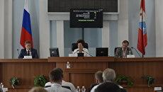 Заседание Законодательного собрания Севастополя. Архивное фото