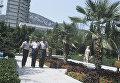 Индийские космонавты Ракеш Шарма и Равиш Мальхотра в Судаке