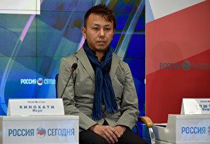 Музыкант из Японии Ясуо Кинохати