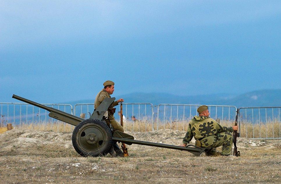 «Крымский военно-исторический фестиваль»— день 1-ый