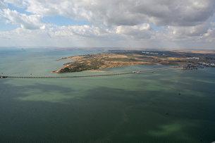 Строительство транспортного перехода через Керченский пролив в Крыму