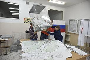 Вскрытие избирательных урн