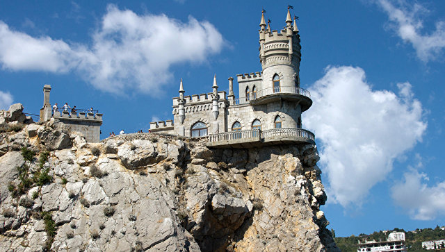 Замок Ласточкино гнездо в Крыму