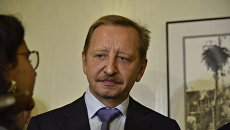 Замдиректора Ростуризма Алексей Конюшков на III туристском форуме Открытый Крым в Ялте