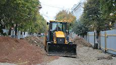 Реконструкция центральных улиц Симферополя