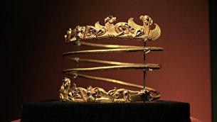Экспонат выставки Крым: золото и секреты Черного моряв Амстердаме. Архивное фото
