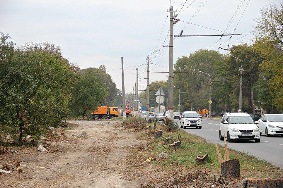 Ремонт улицы Севастопольской вСимферополе: расширят, разгрузят, высадят