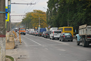 Ремонт улицы Севастопольская в Симферополе