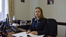 Министр спорта Республики Крым Елизавета Кожичева