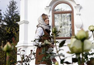 Депутат Госдумы РФ Н. Поклонская открыла часовню у здания прокуратуры в Симферополе