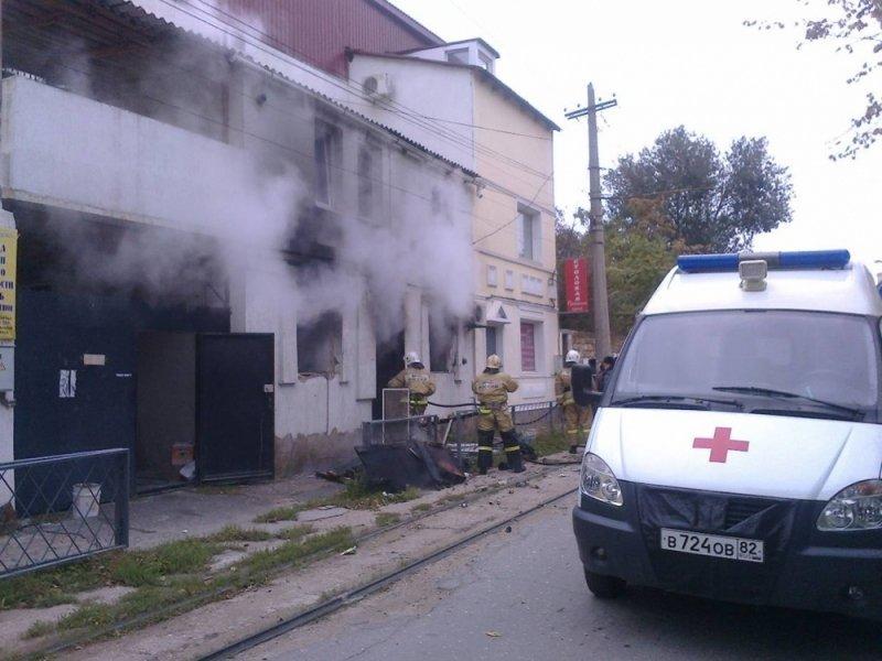 ВЕвпатории квартира загорелась после взрыва газа