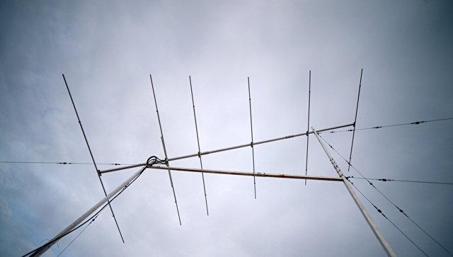 Демонстрация радиолокационных работ на полигоне в Обнинске