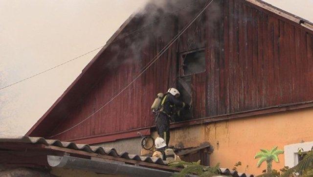 Пожар вжилом доме города Симферополя ликвидирован— МЧС