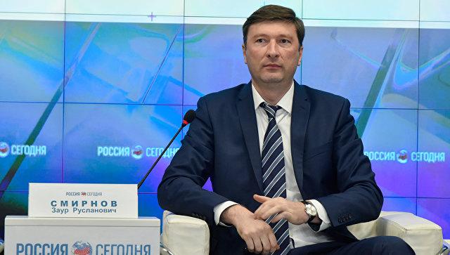 Председатель Государственного комитета по делам межнациональных отношений и депортированных граждан РК Заур Смирнов