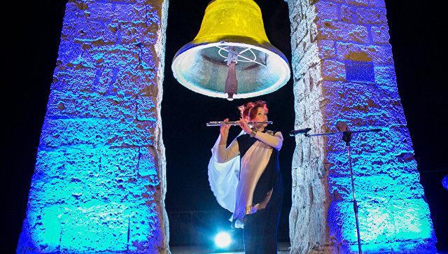 Акция Ночь искусств в музее-заповеднике Херсонес Таврический