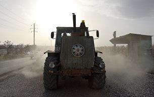 Ремонт дороги. Керченская трасса. 9 ноября 2016 года