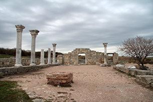 Музей-заповедник Херсонес Таврический. Руины христианской базилики