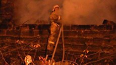 Пожар в Ялте. Архивное фото