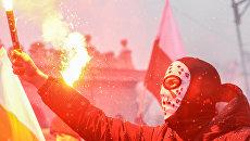 Марш независимости в Варшаве