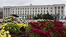 Здание Совета министров РК