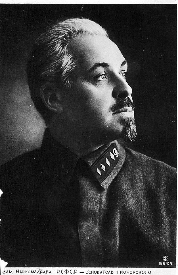 Основатель лагеря Артек Зиновий Соловьев