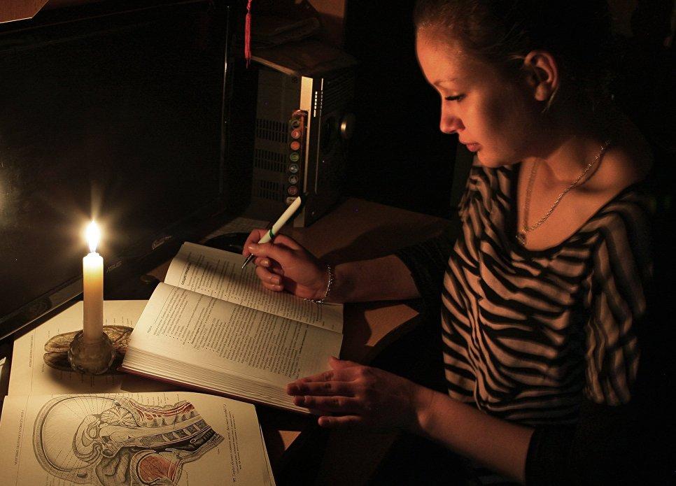 Прекращение электроснабжения Крыма Украиной