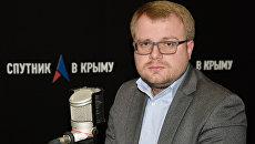 Заместитель председателя Совета министров Крыма – министр внутренней политики, информации и связи РК Дмитрий Полонский