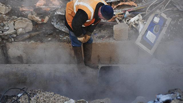 Из-за трагедии  натеплотрассе вКерчи без тепла остались 140 домов