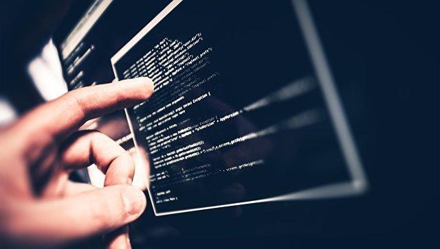 Хакер за компьютером