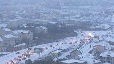 Пробки в Севастополе. Архивное фото