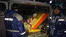 С плато Ай-Петри спасатели эвакуировали беременную девушку в роддом