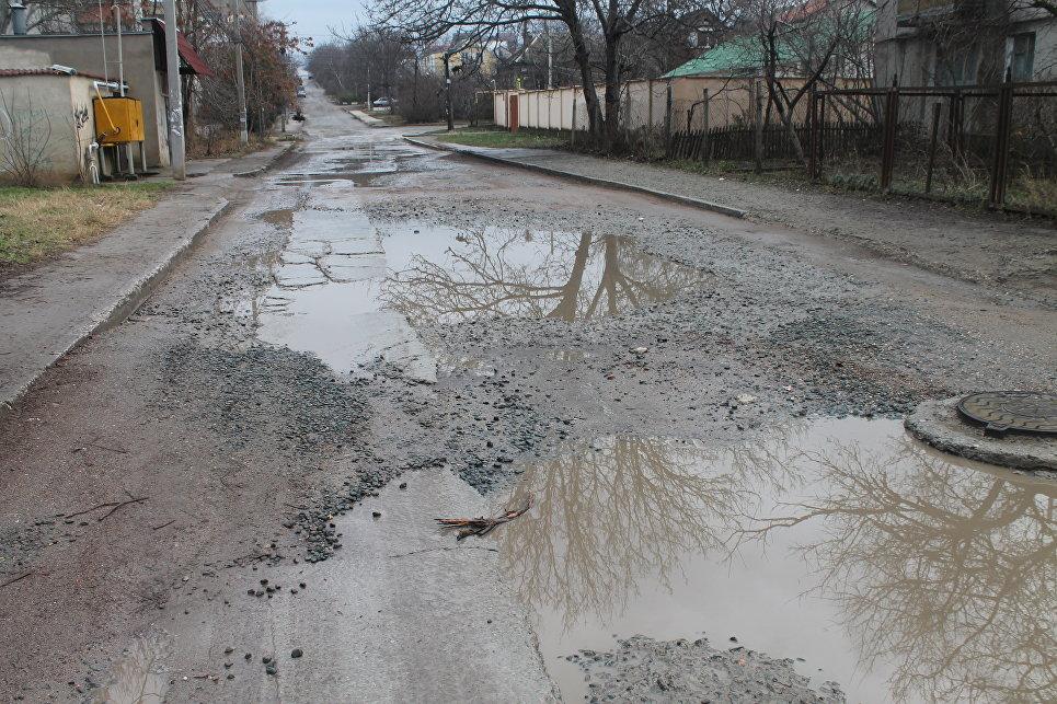 Специалисты: ВСимферополе дороги неочень, однако лучше, чем вСевастополе