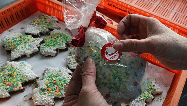 Новогодняя и рождественская выпечка на предприятии Русский хлеб