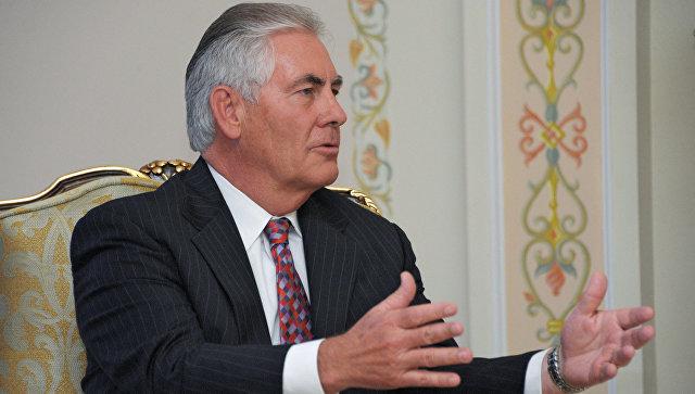 Глава корпорации ExxonMobil Рекс Тиллерсон