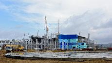 Строительство Симферопольской ПГУ-ТЭС