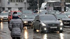 Зимний Симферополь. Архивное фото