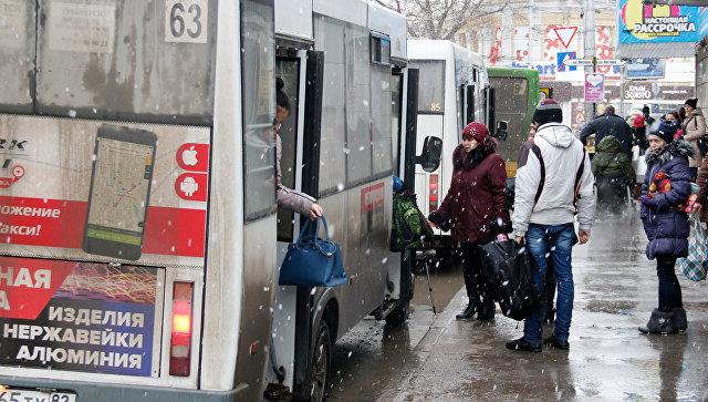 Общественный транспорт в Симферополе. Архивное фото