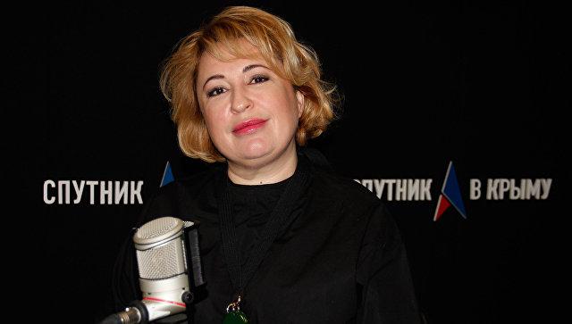 Генеральный директор винзавода Массандра Янина Павленко