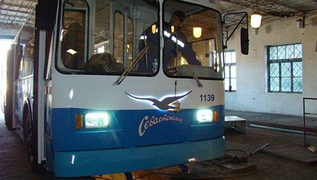 Севэлектроавтотранс начал испытание второго модернизированного троллейбуса с автономным ходом